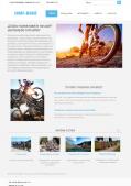 Адаптивный сайт велоклуба